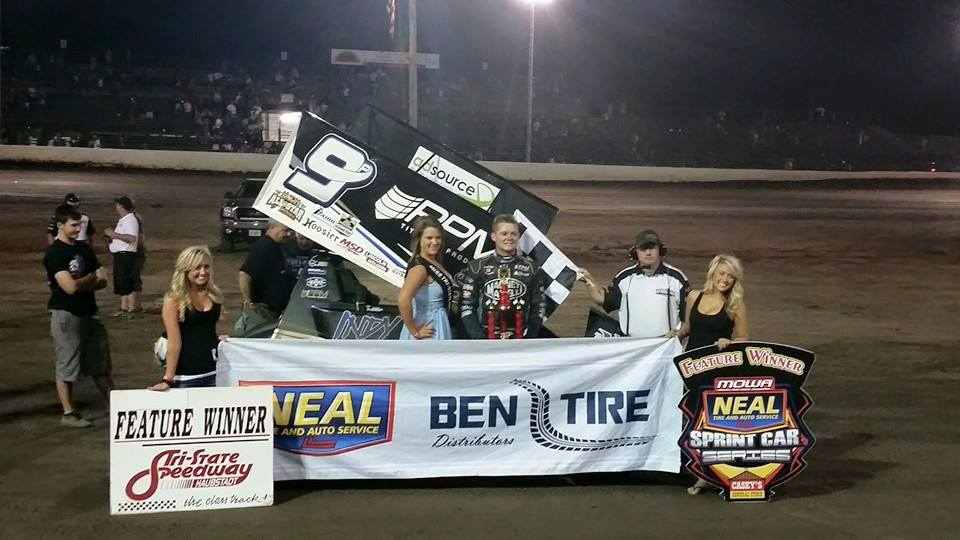 Indiana youngster\'s momentum slides his way to victory lane ...