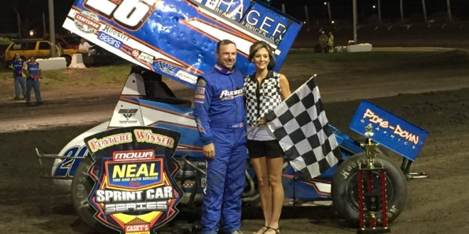 Willie Croft Claims MOWA's 100th event at Lincoln, IL