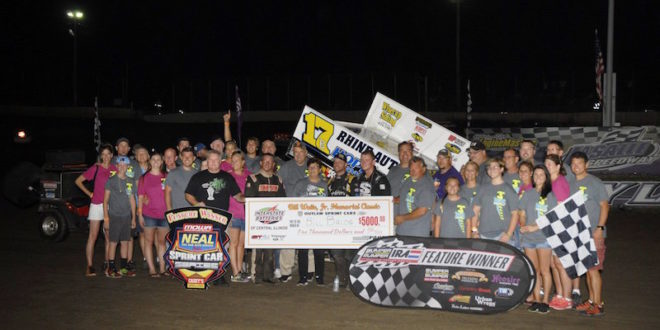 IRA Claims title at Lasalle Speedway for Bill Waite Jr Memorial