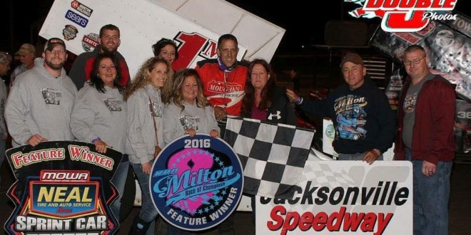 Jim Moughan Jr Claims 3rd Annual Ron Miltion Race of Champions
